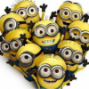 Visuel Minions Coeur